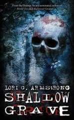 [Book Cover graphic:Shallow Grave]