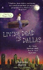 [Book Cover graphic:Living Dead in Dallas]